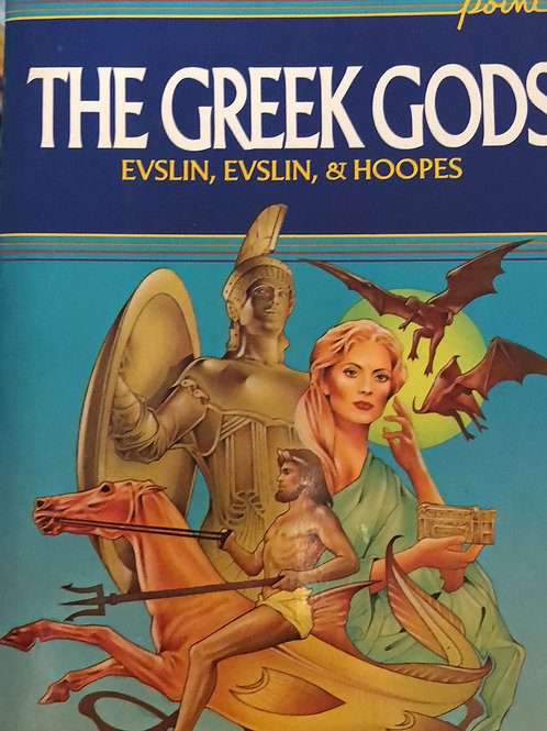 The Greek Gods By Evslin, Evslin, & Hoopes