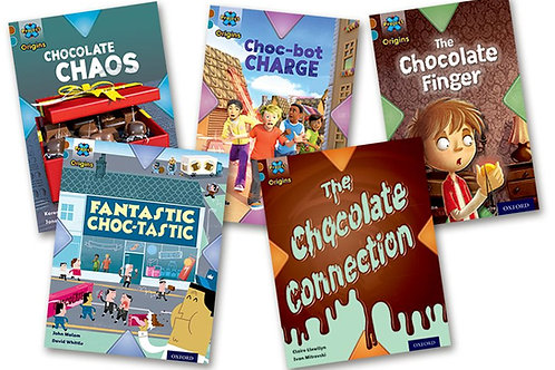 Chocolate Level 9 Pack of 5 (Project x Oxford) plus Guided Reading Te