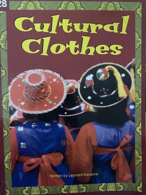 Cultural Clothes Level 28 (MacMillan Reading Bug)