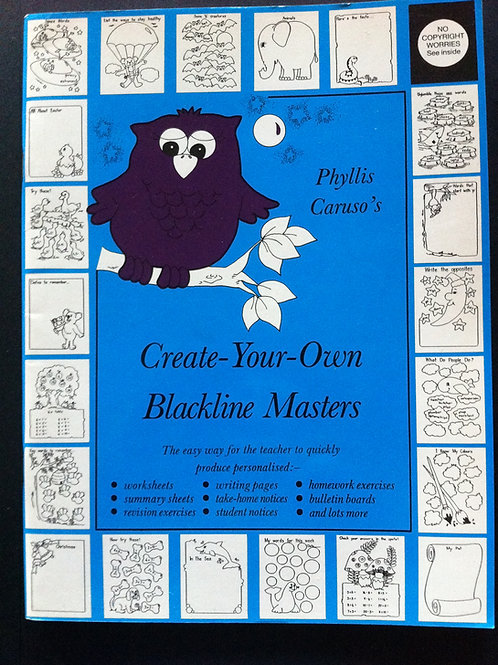 Create-Your-Own Blackline Masters