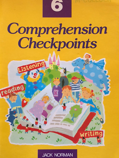 Comprehension Checkpoints Student Book 6