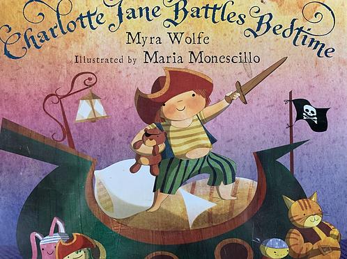 Charlotte Jane Battles Bedtimes Level 17 (Springboard Connect) Larger Book