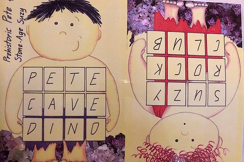 A3 Laminated Cave Dwellers Bingo Ordinal Number Games