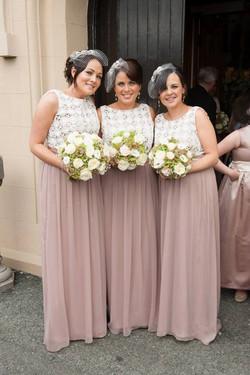 Claires bridesmaids