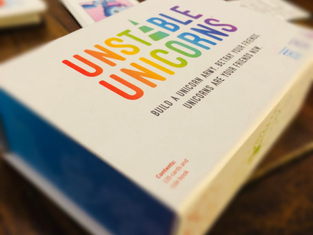 Tabletop Game Review: Unstable Unicorns