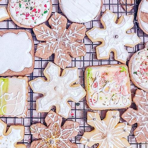 Shabby Chic Winter Cookies