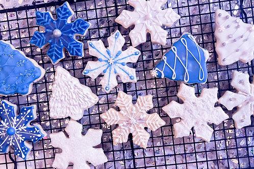 Winter Wonderland Sugar Cookies