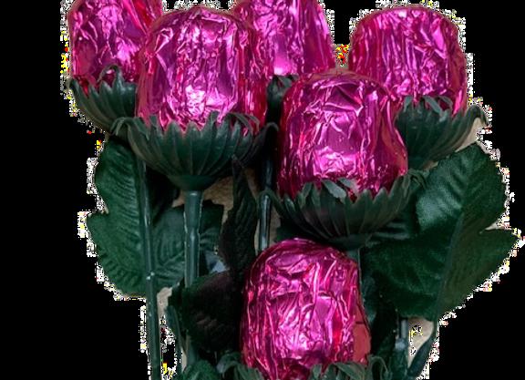 Milk Chocolate Rose Solid