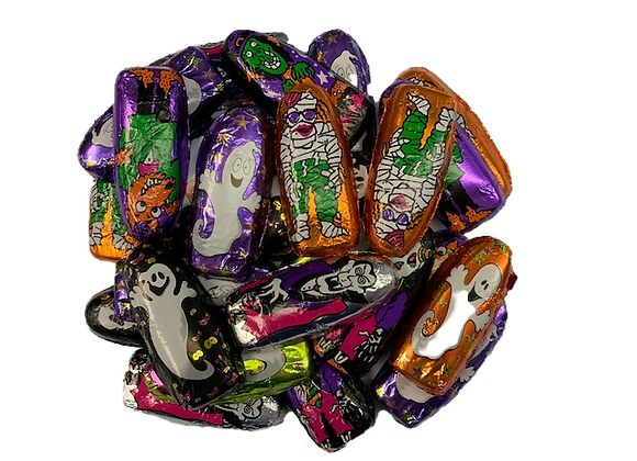Foil Wrapped Halloween Characters 8oz