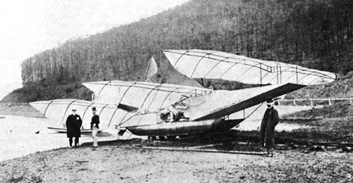 Attempted aircraft by Kress in 1901
