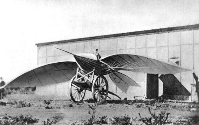 Attempted Aircraft by LeBris in 1868