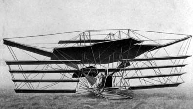 Attempted aircraft by Maxim in 1894