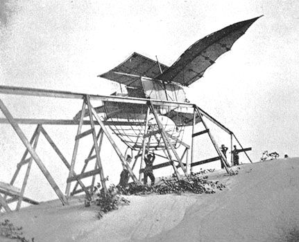 Attempted aircraft by Butusov in 1896