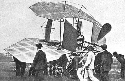 Attempted aircraft by Jatho in 1903
