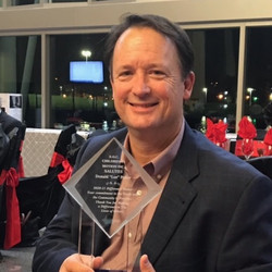 Lee Potter was honored at the SOC Reading and Love Matters Banquet