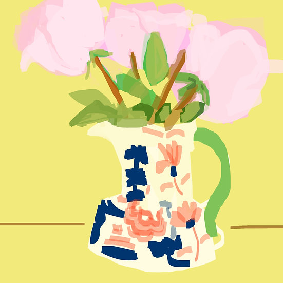 Gaudy Welsh Pitcher