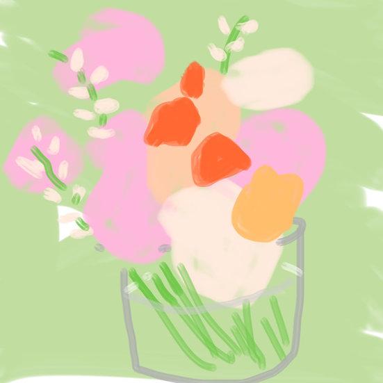 Pink & Coral Roses