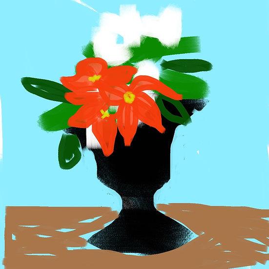 Brownstone Urn