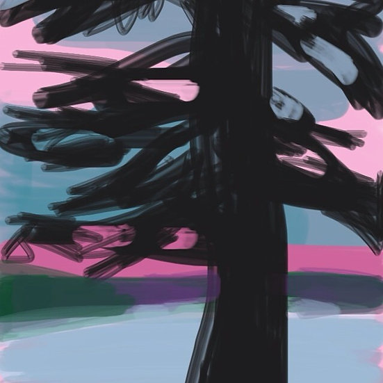 Sunset on Deer Isle