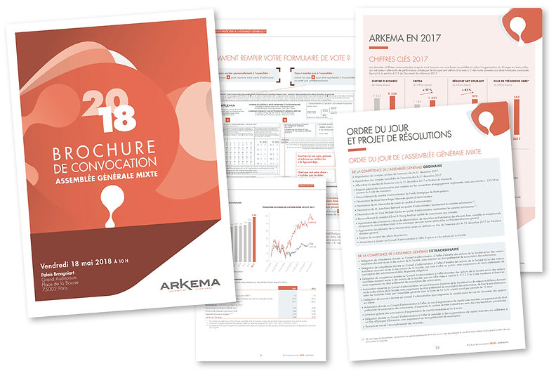 ARKEMA Brochure de convocation