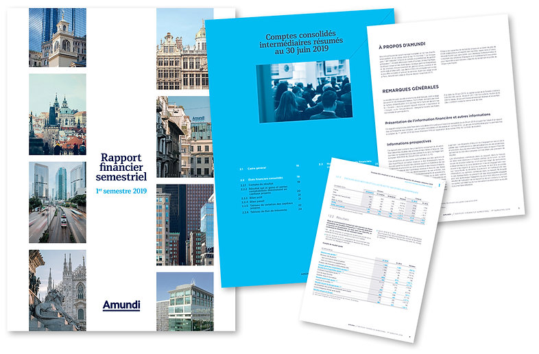 AMUNDI Rapport financier 60 pages
