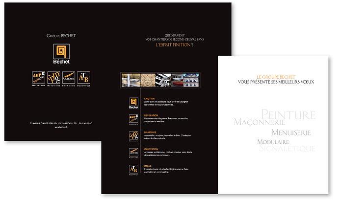 Carte de vœux Groupe Bechet