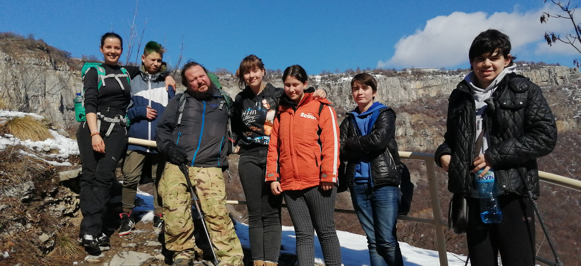 Маршрут: Гара Бов - Вазова екопътека - водопад Скакля - село Заселе - гара Церово