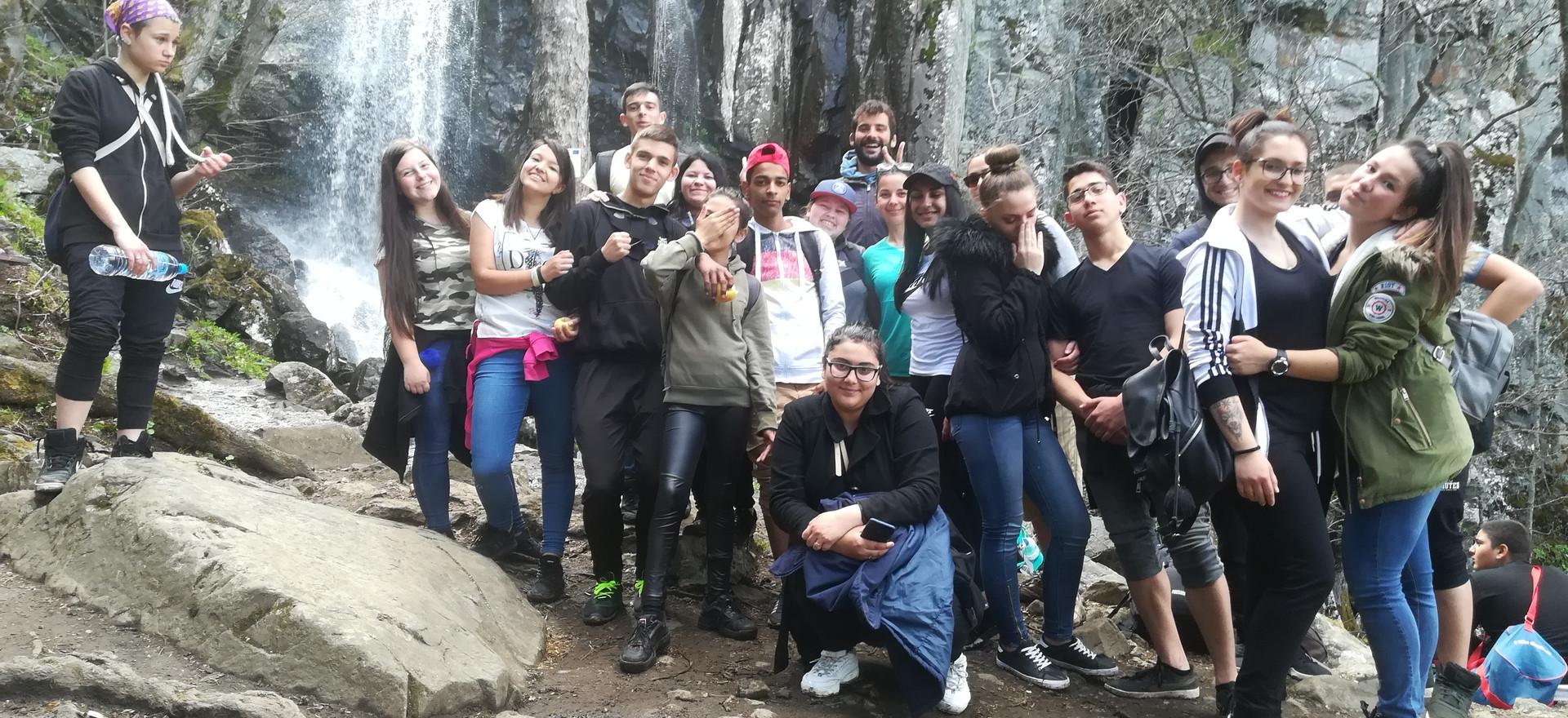 Маршрут: Местност Златните мостове - хижа Камен дел - Боянски водопад - квартал Бояна
