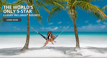 SANDALS 5-STAR LUXURY INCLUDED® RESORTS