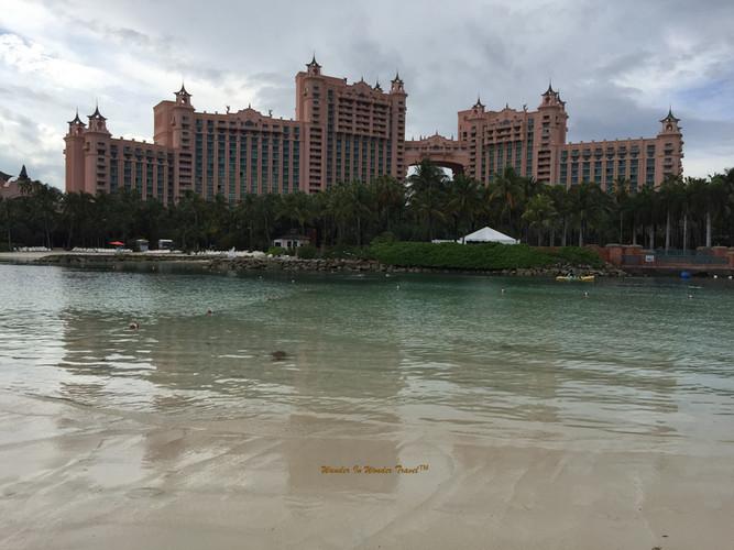 Scenic view of Atlantis Paradise Island