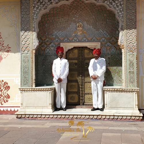 Inside the Maharaja Sawai Mansingh II Mu