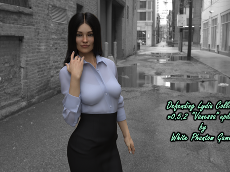 """Defending Lydia Collier v.05.25 """"Vanessa Update"""" now available!"""