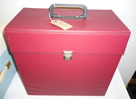 LP Record Case Red