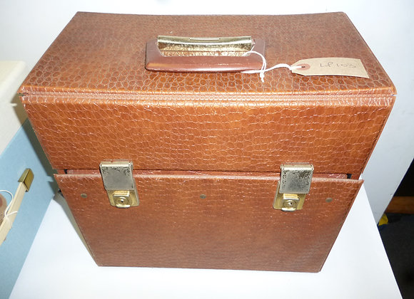 LP Record Case Brown