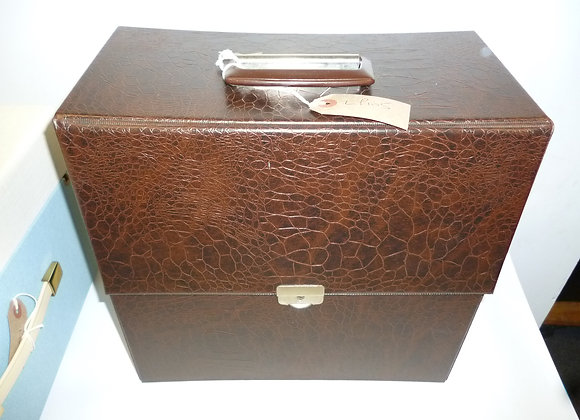 LP Record Case Brown