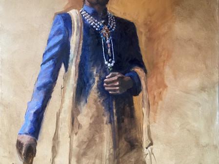 Le Maharadjah par l'artiste peintre Charlotte Barrault