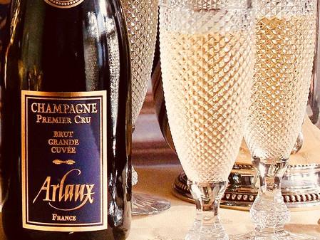 La subtilité du champagne Arlaux...