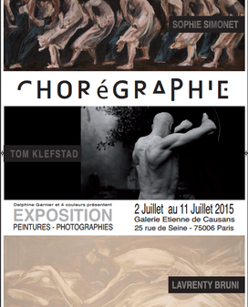 EXPOSITION - CHOREGRAPHIE