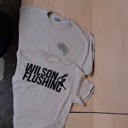 Wilson & Flushing Logo Tee