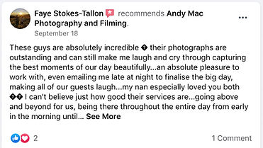 13 Andy Mac Photography Reviews on Faceb