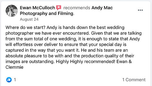 8 Andy Mac Photography Reviews on Facebo