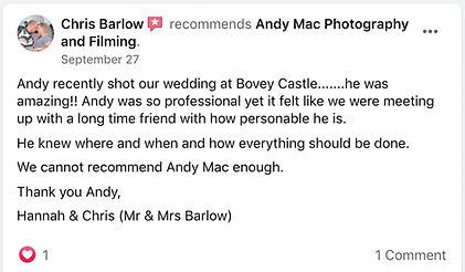 11 Andy Mac Photography Reviews on Faceb
