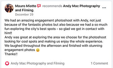 3 Andy Mac Photography Reviews on Facebo