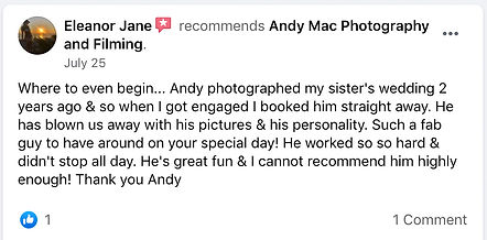 9 Andy Mac Photography Reviews on Facebo