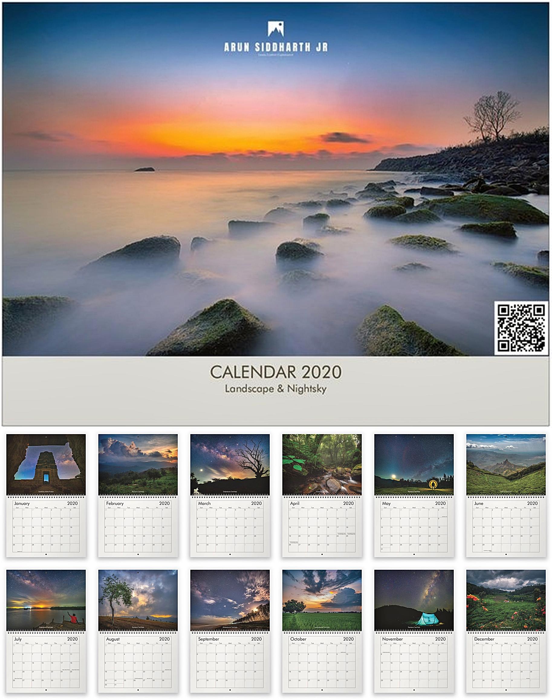 Calendar 2020 Wall Mount