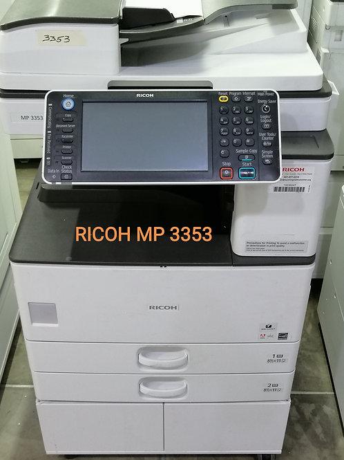 FOTOCOPIADORA  RICOH MP 3053 BLANCO Y NEGRO