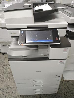 Fotocopiadora digital con android Ricoh MPC 4503 , alimentador doble fax, escanea ambos lados una sola pasada
