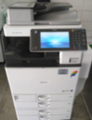Fotocopiadora impresora color ricoh MPC 3502, imprime hasta 300 grs tabloide