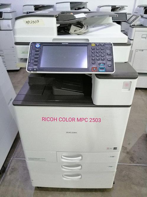 Fotocopiadora color RICOH MP C2503