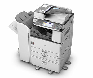 Fotocopiadora impresora alto volumen Ricoh MP 5002 Blanco y negro